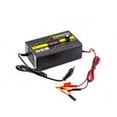 Зарядное устройство АЗУ-510 (10А, для 12В-АКБ до 190 А*ч, волть/ампер метр, руч.регул.) /30