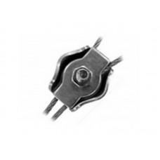 Зажим для стальных канатов SIMPLEX М2 (10шт) цинк