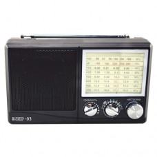 Радиоприемник  Эфир-03 , УКВ 64-108МГц, бат.4*АА (не в компл.)
