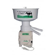 Сепаратор молока Омь-3, 50 Вт,  производительность  60 л/час, 8000-12000 об/мин, индукционный двигатель (без щеток), регулировка жирности сливок
