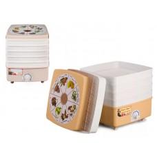 Электросушилка бытовая  Дива Люкс  с тремя решетами (цветная упаковка), АО АПЗ  Ротор