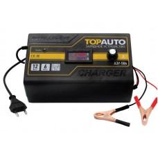 Зарядное устройство АЗУ-506 (6А Для 12В-АКБ до 110 А/ч, цифровой вольт/ампер метр, руч.регул.) /30