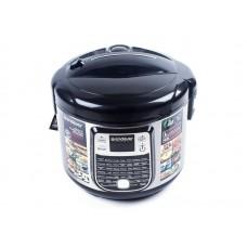 Мультиварка электрическая Endever Vita 95, черно-стальной, 4 шт/уп