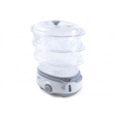 Пароварка электрическая Endever Vita-170, белый/серый, 6 шт/уп