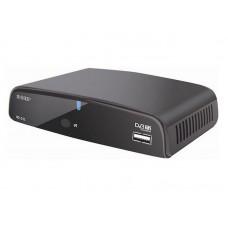 Ресивер эфирный цифровой DVB-T2 HD HD-515 пластик, Эфир