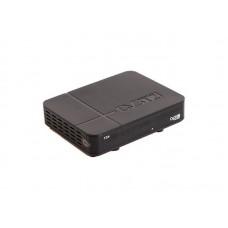 Ресивер эфирный цифровой DVB-T2 HD, T34 пластик, дисплей