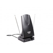 Антенна комнатная ДМВ+МВ активная Эфир SE-220 усы 80см кабель 1м, с рег.