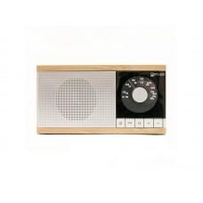 Радиоприемник  БЗРП РП-325 , FM 88-108Мгц, бат.4*R14, 220V