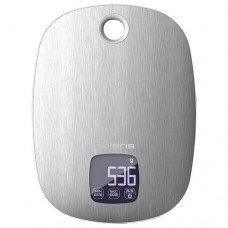 Весы кухонные электрон. PKS 0539DMT (Polaris) (металл) , сталь/ белый