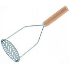 Картофелемялка с деревянной ручкой