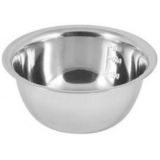 Миска Bowl-Roll-16, объем 0,8 л, из нерж стали, зеркальная полировка, диа 16 см