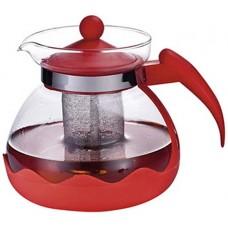Чайник заварочный Decotto-1500 с пластик ручкой, фильтр из нерж ст, 1,5 л, MALLONY