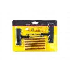 Комплект для ремонта бескамерных шин №2  (8 предметов, клей 20г) 5485/120