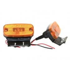 Фонарь габаритный SQ-2553 orange 1шт /2/100