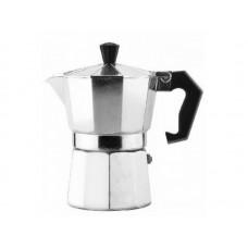 Гейзерная кофеварка алюминиевая на 3 чашки, серия Grande, тм MALLONY