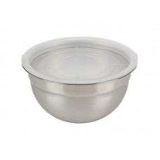 Миска из нерж стали с пласт крышкой AMARENA, 4,3 литра, тм Mallony