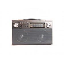 Радиоприемник  БЗРП РП-322 , УКВ 64-108МГц,бат.4*R20,220V,акб1400mA/h,USB/SD/microSD/AUX/BT,2дин