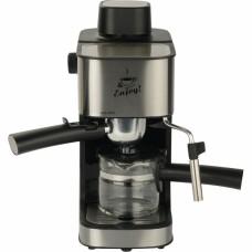 5475-2 Кофеварка Espresso FIRST, 800 Вт, 4 бар, 0.6 л, капучинатор,Black-Bruched