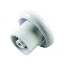 Ручка-кнопка мебельная (белая) (1шт/уп)