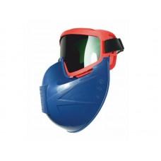 Щиток PANORAMA к очкам защитным закрытым темно-синий РОСОМЗ® 00888Син (15шт/уп)