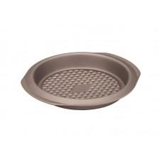 Форма для выпечки Harmony-22R круглая 22 см из углер.стали (POLARIS) , золотой