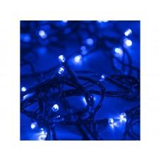 Гирлянда светод. рисовая RL-110B, 10м, 100LED, синий, темно-зел. шнур 0,7м, контроллер, Funray