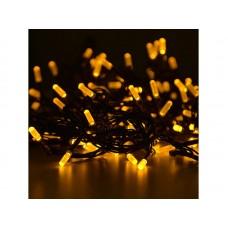 Гирлянда светод.  Лучики , SE-BEAM-110Y, 10М, 100LED, желтый, темно-зел. шн. 0,7м, контр., Funray