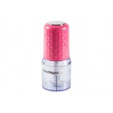 Измельчитель пищевых продуктов электрический Endever Sigma-61, розовый, объем чаши 0,5 л