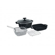 Набор посуды 5 предм. I-unique Rondell RDA-1071 (BK)