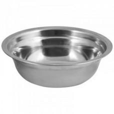 Миска Bowl-15, объем 0,5 л, с расширенными краями, из нерж стали, зеркальная полировка, диа 15 см