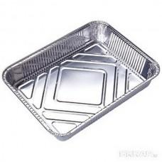 Форма для выпечки одноразовая из алюм фольги Lamina, прямоуг, 22,5*17,7*4,5 см_упаковка 50 шт