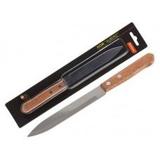 Нож с деревянной рукояткой ALBERO MAL-05AL для овощей (большой), длина 12,5 см, т.м. Mallony