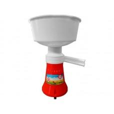 Сепаратор молока Мастерица ES-0301, объем приемника молока 5,5 л, частота вращения барабана 12000 об/мин, производительность 60 л/ч
