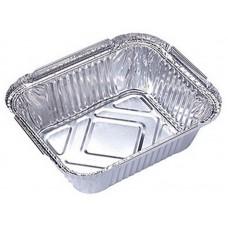 Форма для выпечки, LAMINA, размер: 20,2*11,3*5 см,  из алюм фольги, прямоугольная, одноразовая_упаковка 50 шт