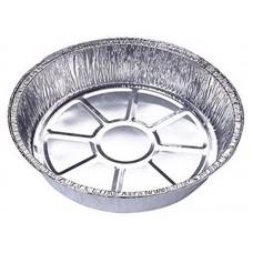 Форма для выпечки, LAMINA, размер: 20,5*20,5*4,7 см,  из алюм фольги, круглая, одноразовая_упаковка 50 шт