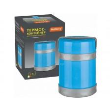 Термос-контейнер в пластиковом корпусе c колбой из нерж. стали BELLO, 1,2 л Mallony