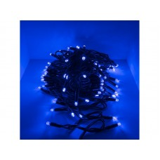 Гирлянда светод. уличная рисовая, SE-RICE-10100B, 10M, 100 LED, синий, IP60, черный шн. 1,5м, Funray