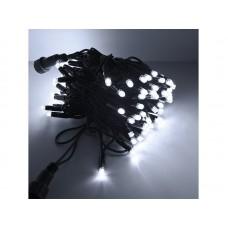 Гирлянда светод. уличная рисовая, SE-RICE-10100W, 10M, 100 LED, хол.бел, IP60, черн.шн.1,5м, Funray