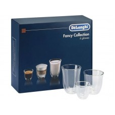Чашки микс DeLonghi DLSC302 Mix Glasses Set, 6шт