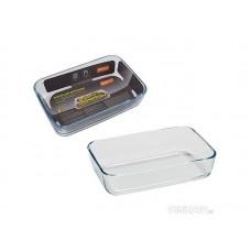 Форма для запекания CRISTALLINO, объем 0,9 л, из боросиликатного стекла, прямоугол формы, без ручек