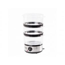 Пароварка электрическая Endever Vita-173, черный/стальной, 6 шт/уп