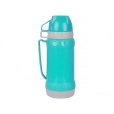 Термос в пластиковом корпусе со стеклянной колбой ACQUA, 1,0 л (2 чашки)