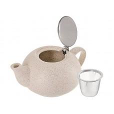26596 Заварочный чайник БЕЖЕВЫЙ 750мл LR (х24)