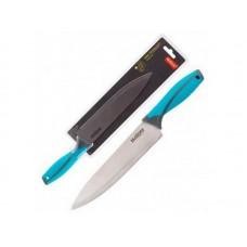 Нож с прорезиненной рукояткой ARCOBALENO MAL-01AR поварской, 20 см Mallony