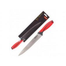 Нож с прорезиненной рукояткой ARCOBALENO MAL-02AR разделочный, 20 см Mallony