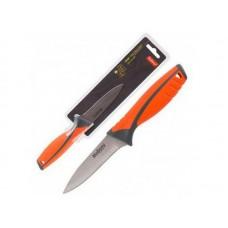 Нож с прорезиненной рукояткой ARCOBALENO MAL-04AR для овощей, 9,5 см Mallony