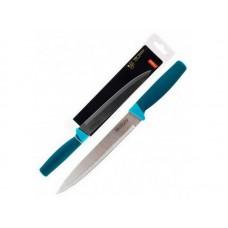 Нож с рукояткой софт-тач VELUTTO MAL-02VEL разделочный, 19 см Mallony
