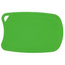 арт.  ДРГ-3221 Доска разделочная овальная средняя 310*210 мм(полиуретан) (салат.)