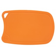арт.  ДРГ-3221 Доска разделочная овальная средняя 310*210 мм(полиуретан) (оранж.)