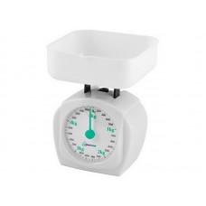 Весы кухонные механические HOMESTAR HS-3005М, 5 кг, цвет белый
